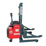 Powered Pallet Stacker Special Model  Shaft Carrier(Load:1Ton/1.5Tons/2Tons,2200LB~4400LB)PPS-10W/15W/20W