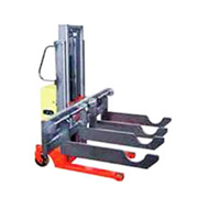 Semi-powered/ hand pallet series:Special Model Shaft Carrier(Special Model Shaft Carrier)(Load: 1 Ton/ 1.2Tons / 1.5Tons)SPS-10W/12W/15W
