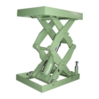 Electric Lift Platform(Table)Type Single-cylinder 2-stage  (Load: 500 ~ 2000kg)ELT-205SA~212SA