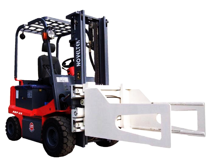 Advanced Electric Forklift Truck(Load:1.5Tons/2Tons/2.5Tons,3300LB~5500LB  + Bale Clamp