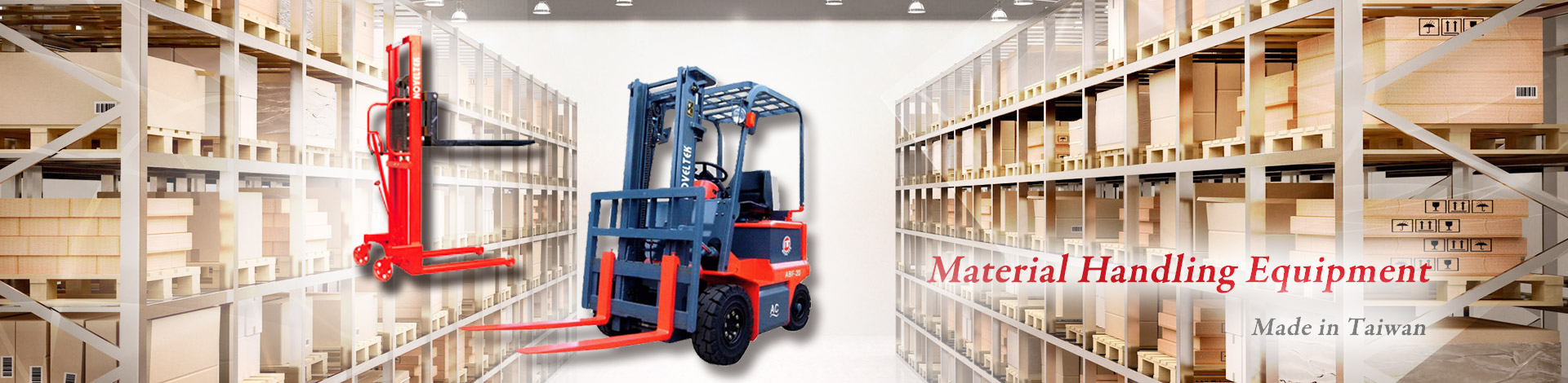Noveltek Industrial Manufacturing Inc. is a leading Counter Balanced Reach Truck and Order Picker Truck manufacturer specialized in Powered Pallet Truck, Electric Forklift, Order Picker Truck, Pallet Truck, Counter Balanced Reach Truck, Walkie Stacker, Pallet Stacker, Pallet Jet, Powered Stacker, Lift Table, Pallet Truck Manufacturer , and Electric Forklift Manufacturer.