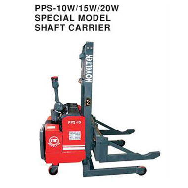 Automated Guided Vehicle System:Powered Pallet Stacker Special Model  Shaft Carrier(Load:1Ton/1.5Tons/2Tons,2200LB~4400LB)PPS-10W/15W/20W