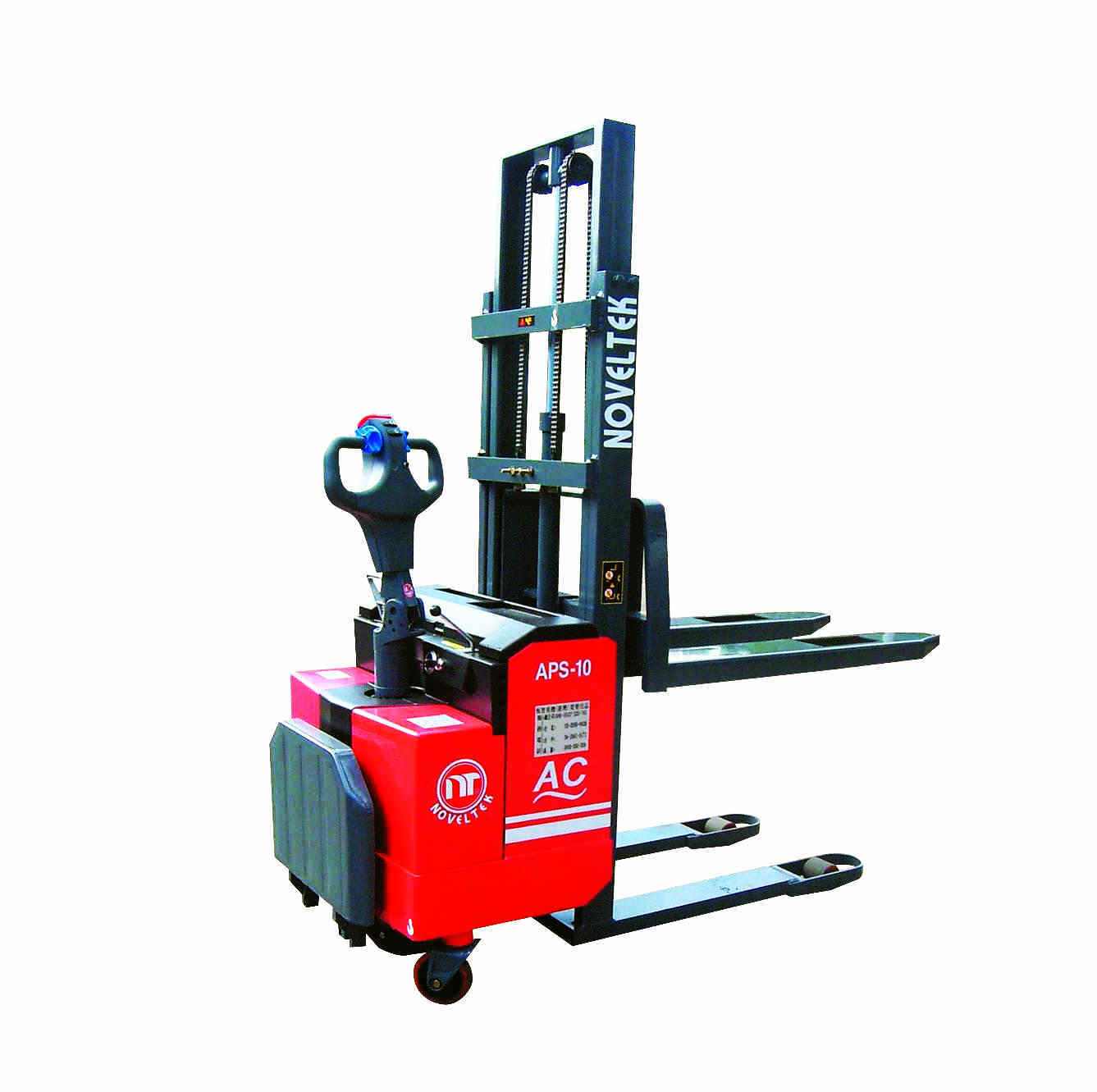 Power Pallet Stacker:Advanced Powered Pallet Stacker (AC System)(Load:1 Ton /1.5 Tons /2 Tons,2200LB~4400LB )APS-10/15/18/20