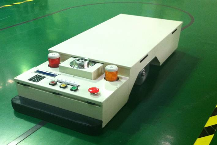:Automated Guided Vehicle System(AGV-Simple)